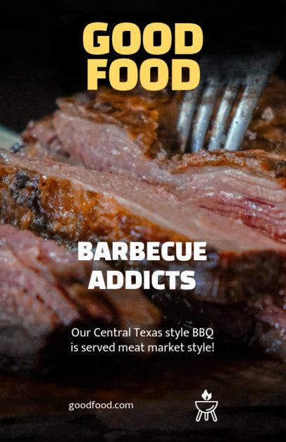 Online Flyer Maker for a Barbecue Restaurant 359a