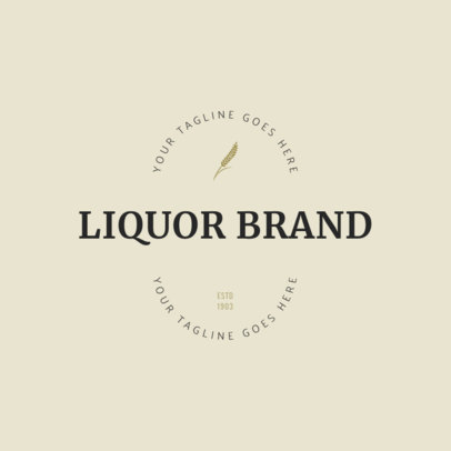 Logo Maker for Liquor Brands 1207e