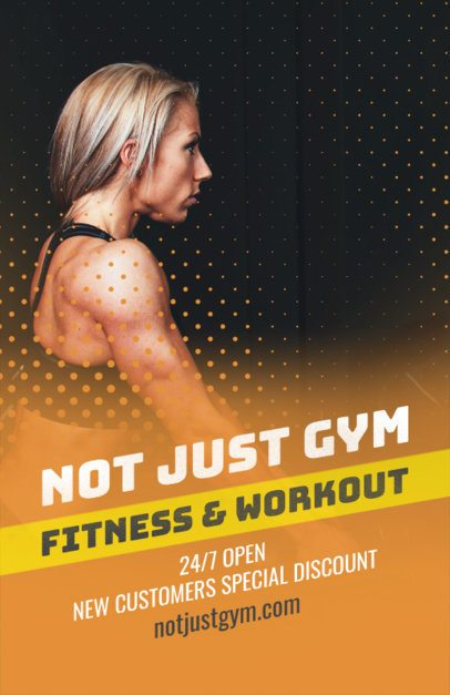 Gym Online Flyer Maker 353b