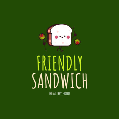 Logo Maker for Sandwich Restaurants 1230b