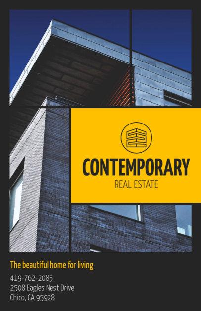 Real Estate Flyer Maker for Modern Homes 156d