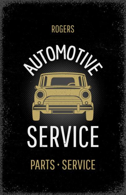 Flyer Maker for Auto Service Centers #267e