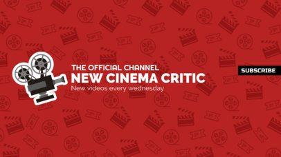 YouTube Banner Maker for Film Critics 395