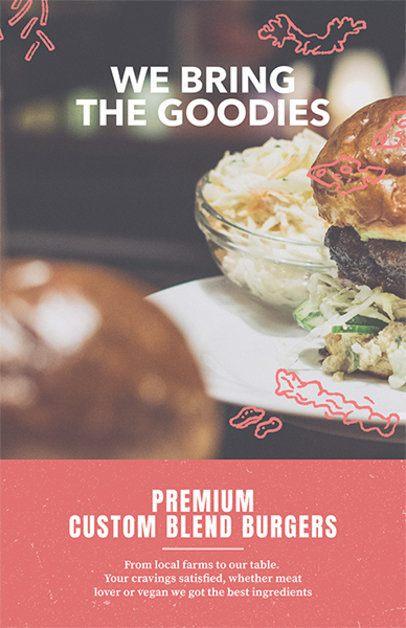 Burger Restaurant Flyer Maker 416