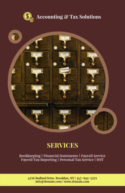 Online Flyer Maker for Tax Advisors 375e