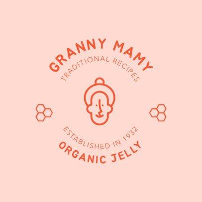 Logo Maker for Organic Jelly 1287f