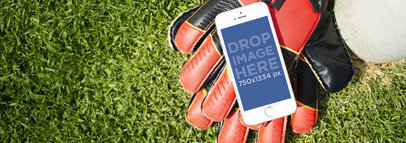 iPhone 6 Stock Photo at The Soccer Field