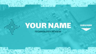 YouTube Banner Maker for Tech Bloggers 391