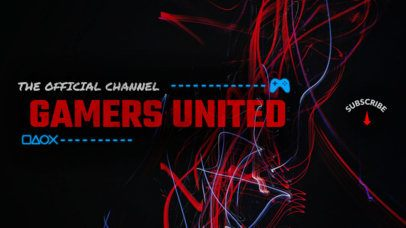 Online Banner Maker for Gaming Channels 386d