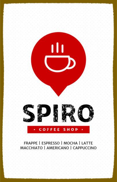 Coffee Shop Online Flyer Maker 390a