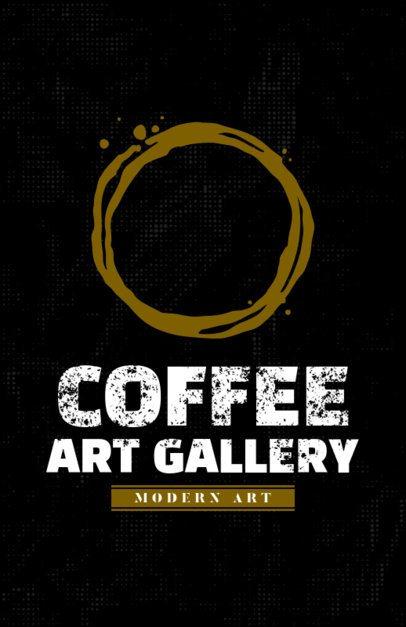 Coffee Gallery Online Flyer Maker 390b