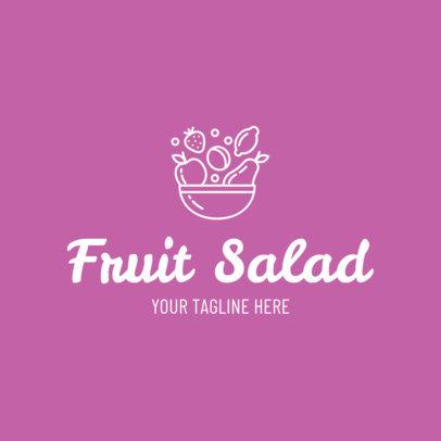 Custom Logo Maker for Salad Restaurants 1267b