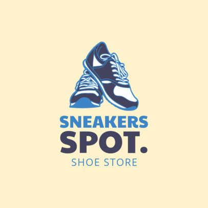 Online Logo Maker for Tennis Shoes Stores 1261a