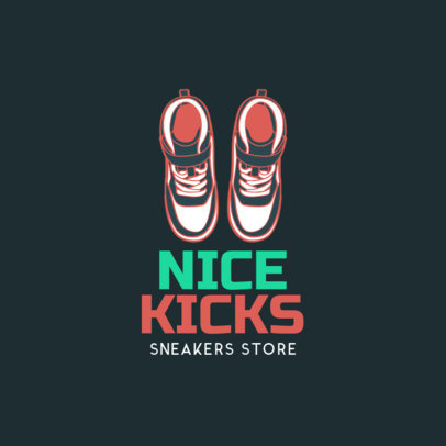 Custom Logo Maker for Sneaker Stores 1261b
