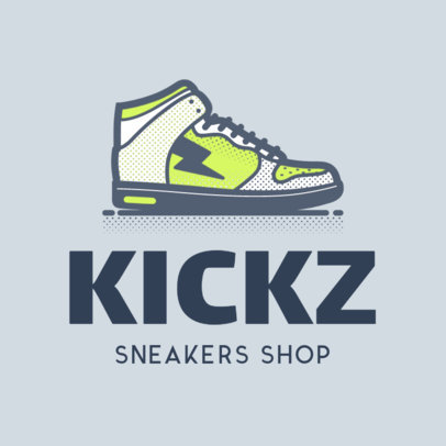 Logo Template for Online Sneaker Stores 1261c