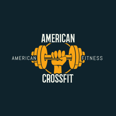 Gym Logo Maker for Crossfit Gyms 1266