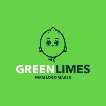Farm Logo Maker for Fruit Farmers 1303