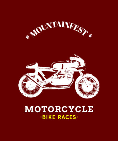 T-Shirt Templates for Motorcycle Tours 330e