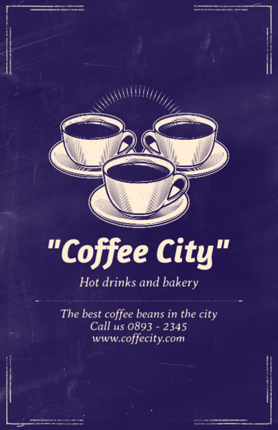 Coffee Bar Online Flyer Maker 406e