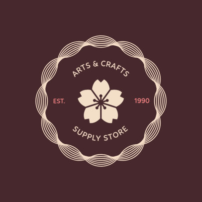 Logo Maker for an Arts and Crafts Store 1309