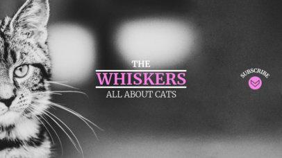 Youtube Banner Maker for Cat Channels 418d