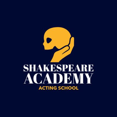 Drama School Logo Maker 1301