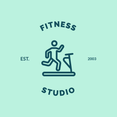 Online Logo Maker for Fitness Studios 1273e