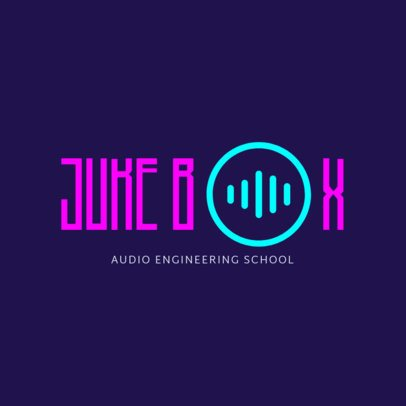 Logo Template for Audio Engineering School 1291c