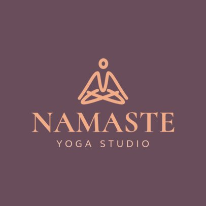 Online Logo Maker for Yoga Centers 1296