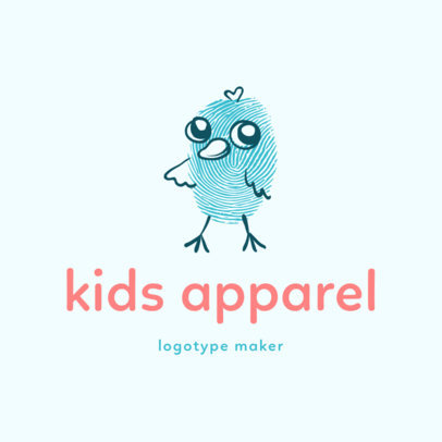Apparel Logo Maker for Kids Clothing Brands 1276