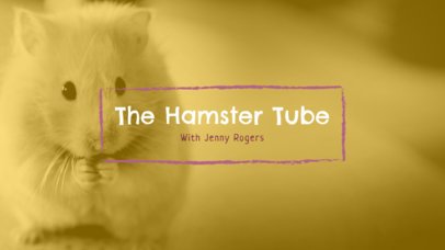 Youtube Channel Art for Animal Channels 411d