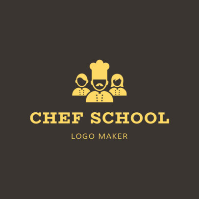 Online Logo Maker for Chef Schools 1299b