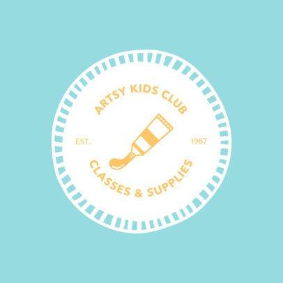 Online Logo Maker for Art Classes 1309c