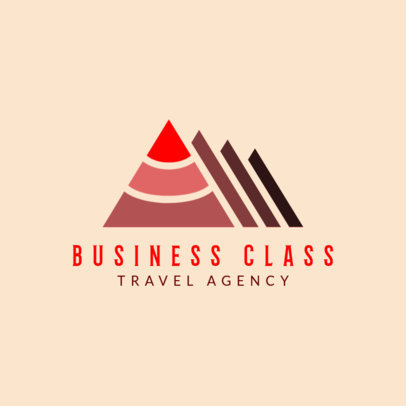 Online Logo Maker for Business Travel Agencies 1281e