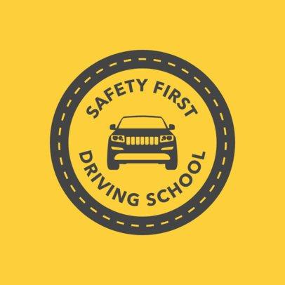 Logo Maker for Car Driving Schools 1295e