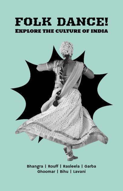 Dance Flyer Maker fro Folk Dancers  432d