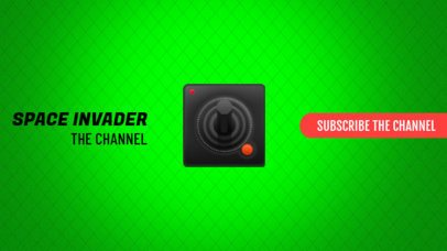 YouTube Banner Maker for Gamers with Retro Controller 407e