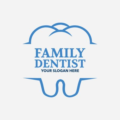 Custom Logo Maker for Family Dentists 1284e