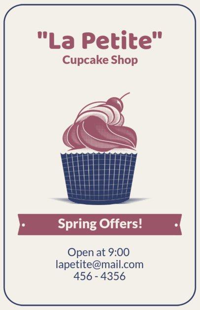 Online Flyer Maker for French Bakeries 373b