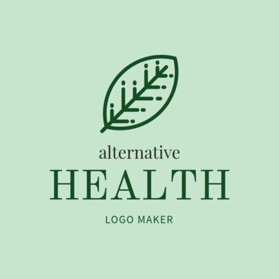 Logo Maker for Complementary and Alternative Medicine 1294d