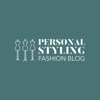Custom Logo Maker for Fashion Blogs 1311e