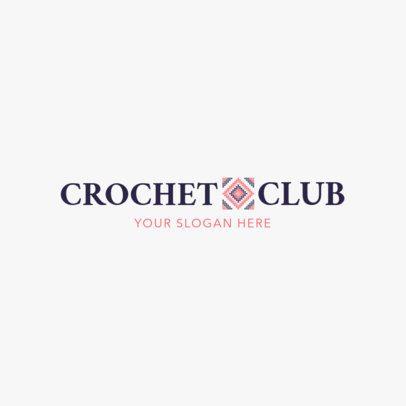 Crochet Club Logo Design Maker 1278