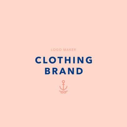Clothing Brand Logo Template 1315