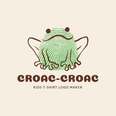 Online Logo Maker for Children's Clothing Stores 1276b