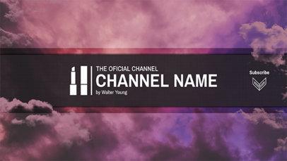 Official Beauty Guru Channel Banner Template 449