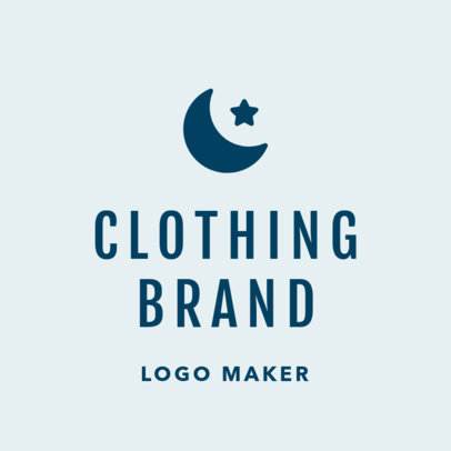 Casual Fashion Brand Logo Maker 1315e