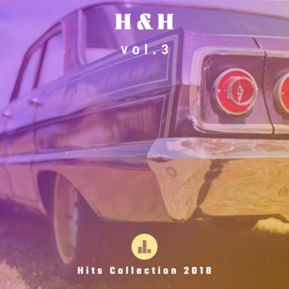 Hip-Hop Hits Collection Album Cover Design Maker 465d