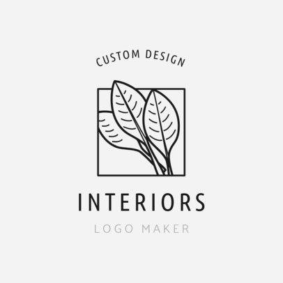 Logo Template for Fresh Interior Design1325a