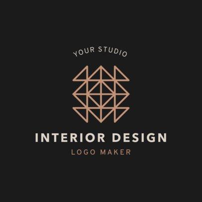 Logo Maker for Interior Design Studio 1325d