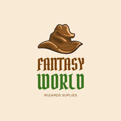 Wizard Costume Rental Logo Design Maker 1320d